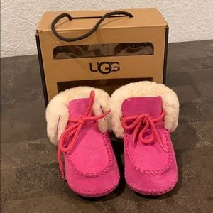 Baby Girl Pink UGG Boots Size 4/5